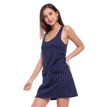 Textured Knit Sleeveless Shirt Dress by Glamour Studio