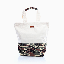 Camo Weekend Canvas Tote by Coco & Tres