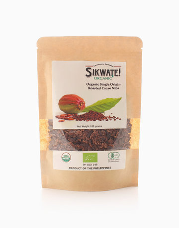 Organic Roasted Cacao Nibs (100g) by Sikwate! Organic