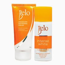 Belo underarm whitening cream 40g   free intense white deo 40ml
