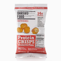 Brickoven Pizza Protein Crisps (21g) by Shrewd Foods