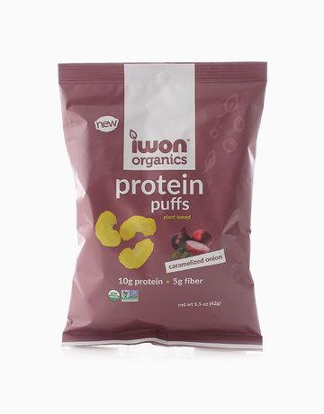 Caramelized Onion Protein Puffs (42g) by iWon Organics