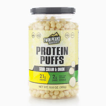 Sour Cream & Onion Protein Puffs (300g) by Twin Peaks
