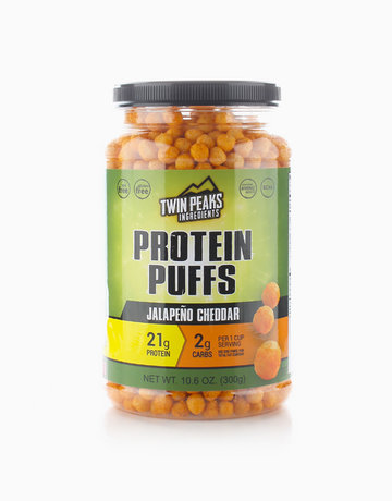 Jalapeño Cheddar Protein Puffs (300g) by Twin Peaks