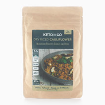 Seasoned Dry Riced Cauliflower - Mushroom Roasted Garlic & Herb (98g) by Keto & Co