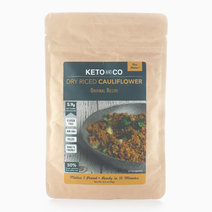 Seasoned Dry Riced Cauliflower - Original Recipe (90g) by Keto & Co