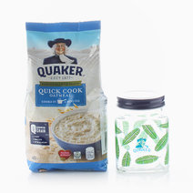 Quick Cook (400g) + Free Microwavable Jar by Quaker