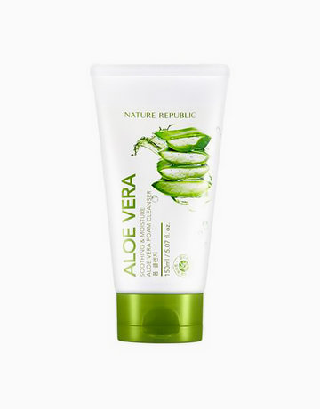 Soothing and Moisture Aloe Vera Foam Cleanser by Nature Republic