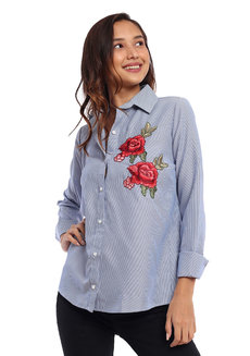 Delmar Embroidered Long Sleeves Top by Chelsea