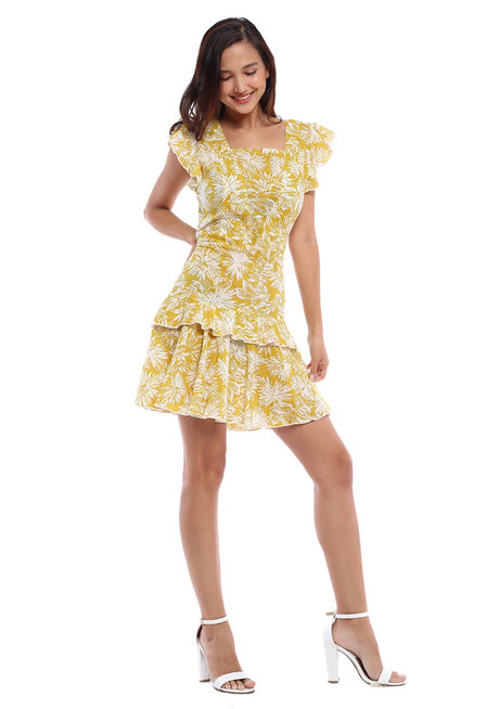 Milagrosa Ruffle Dress by Chelsea