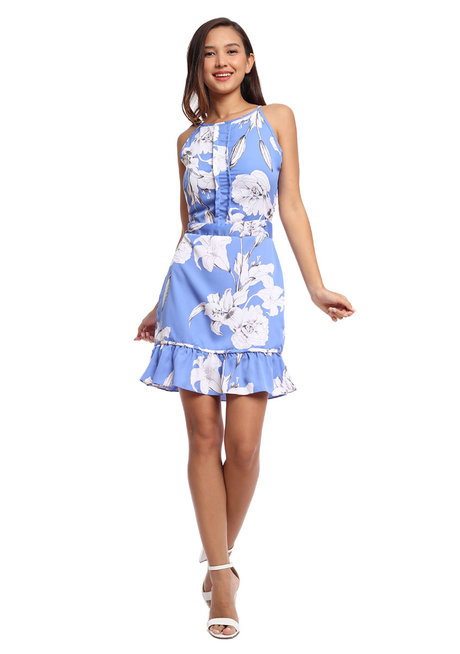 Pedra Halter Dress by Chelsea