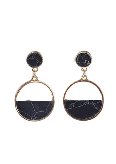 Isabelline Marble Earrings by Moxie PH