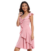 Palmira Flounce Dress by Chelsea