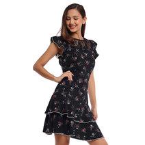 Pepita Layered Dress by Chelsea