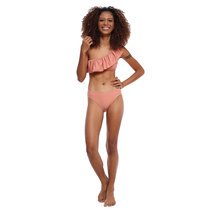 One Shoulder Ruffle Layer Bikini Set by EIKA Swimwear