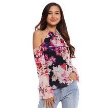 Presencia Cold Shoulder Top by Chelsea