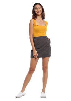Zip Back Mini Skirt by The Fifth Clothing