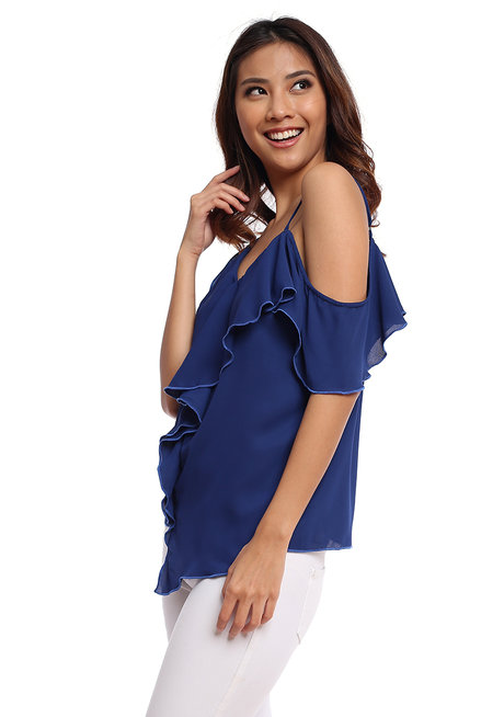 Pacencia Asymmetrical Top by Chelsea