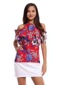 Madalena Cold Shoulder Top by Chelsea
