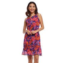 Mirari Halter Ruffle Dress by Chelsea