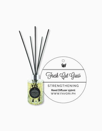 Fresh Cut Grass 150ml Premium Reed Diffuser by FAVORI