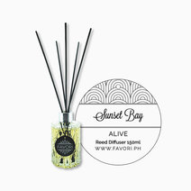 Sunset Bay 150ml Premium Reed Diffuser by FAVORI