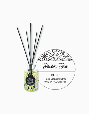Passion Fire 150ml Premium Reed Diffuser by FAVORI