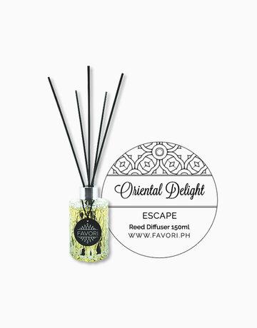 Oriental Delight 150ml Premium Reed Diffuser by FAVORI