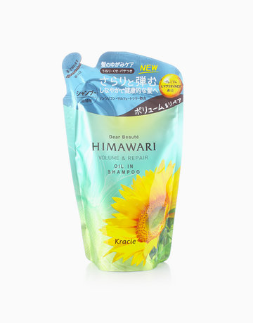 Himawari Volume & Repair Shampoo Refill Pack by Kracie