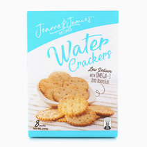 Jeanne & Jamie's Recipes Water Crackers (144g) by Jeanne & Jamie's Recipes
