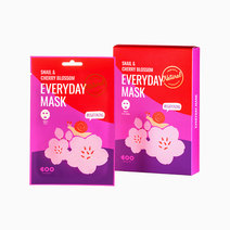 Snail & Cherry Blossom Everyday Mask by DEARBOO