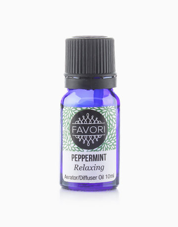 Peppermint 10ml Aerator/Diffuser Aroma Oil by FAVORI