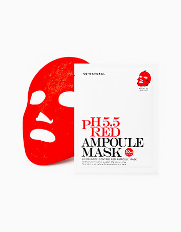 5.5 Red Plus Ampoule Mask by So Natural