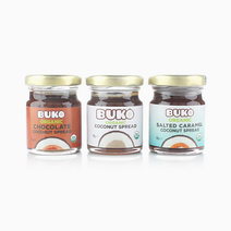 Organic Coconut Spread Variety Pack by Buko Foods