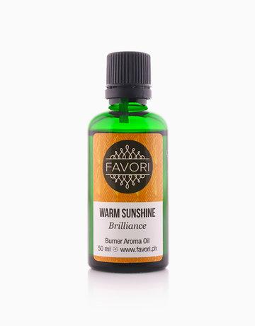 Warm Sunshine 50ml Burner Aroma Oil by FAVORI