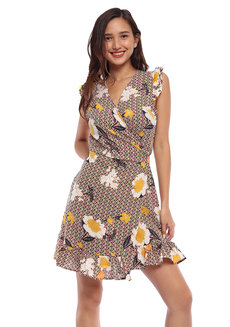 Vicky Wrap Dress by Toppicks Clothing