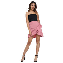 Kemina Ruffled Mini Skirt by Chelsea
