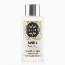 Vanilla 50ml Regular Reed Diffuser by FAVORI