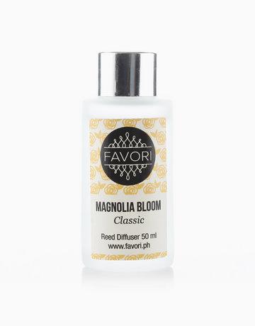 Magnolia Bloom 50ml Regular Reed Diffuser by FAVORI