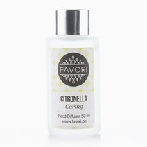Citronella 50ml Regular Reed Diffuser by FAVORI
