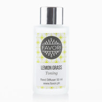 Lemon Grass 50ml Regular Reed Diffuser by FAVORI