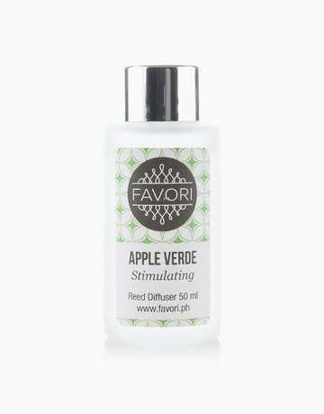 Apple Verde 50ml Regular Reed Diffuser by FAVORI