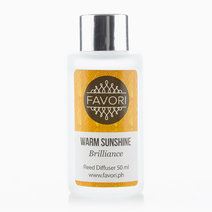 Warm Sunshine 50ml Regular Reed Diffuser by FAVORI