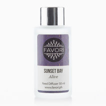 Sunset Bay 50ml Regular Reed Diffuser by FAVORI