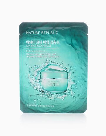Super Aqua Max Combination Watery Mask Sheet (20ml) by Nature Republic