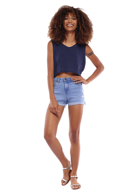 Hera Tie Top by Babe