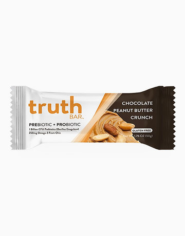 Chocolate Peanut Butter Crunch Prebiotic + Probiotic Bar (50g) by truth BAR