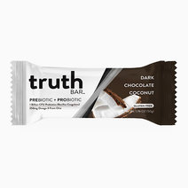 Dark Chocolate Coconut Prebiotic + Probiotic Bar (50g) by truth BAR