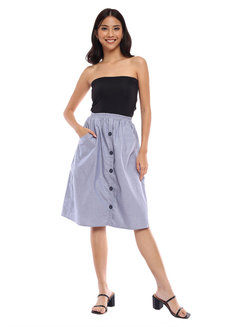 Jenny Midi Skirt by Babe