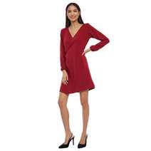Aly Wrap Dress by Babe